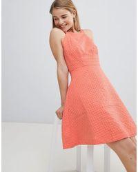Louche - Textured Skater Dress - Lyst
