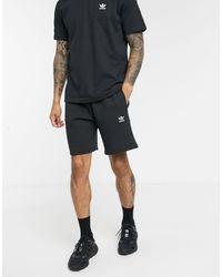 adidas Originals - Черные Шорты С Логотипом -черный - Lyst