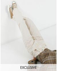 Reclaimed (vintage) Выбеленные Джинсы Цвета Экрю В Винтажном Стиле 90-х Inspired-белый - Естественный