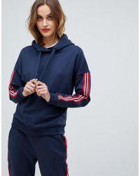 Esprit - Side Stripe Hoodie - Lyst