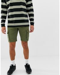 Blend – Cargo-Shorts - Grün