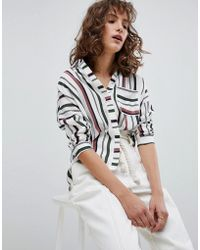 Suncoo - Variegated Stripe Shirt - Lyst