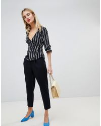 Warehouse | Peg Leg Tailored Trousers | Lyst