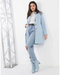 Vero Moda Manteau ajusté - Bleu