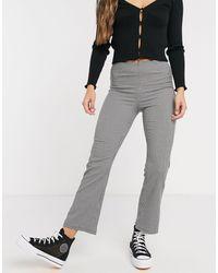 Pimkie Pantalones a cuadros estilo pata - Multicolor