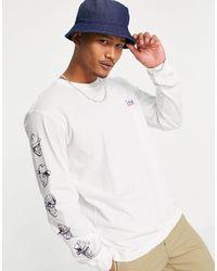 Dickies Federal Dam Long Sleeve T-shirt - White