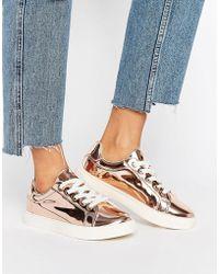Truffle Collection - Truffle Metallic Sneaker - Lyst