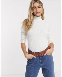 Miss Selfridge Jumper With Roll Neck - Multicolour