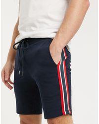 ASOS Pantaloncini skinny - Blu