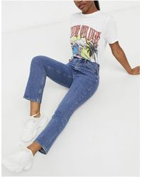 M.i.h Jeans Mih Daily Crop Jeans - Blue
