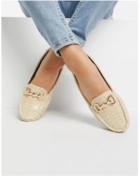 Truffle Collection Metal Trim Loafer - Multicolor