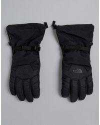 The North Face - Revelstoke Etip Snow Gloves In Black - Lyst