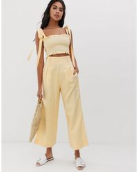 Capulet Lucy Wide Leg Pants - Yellow