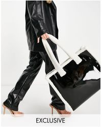 Glamorous Exclusive Shopper Bag - Black