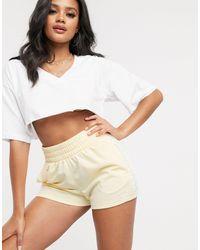 adidas Originals Adicolor Three Stripe Shorts - Yellow