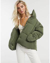 Free People Weekender Padded Jacket-green