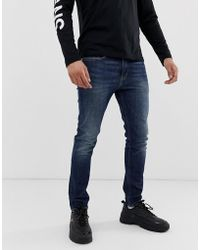 Calvin Klein Skinny-fit Jeans - Blauw
