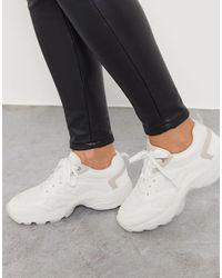 Stradivarius Sneakers - White