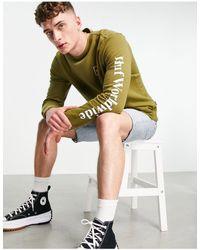 Huf Essentials domestic - sweat-shirt - Vert