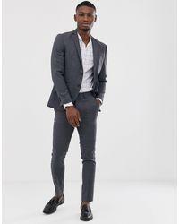 Jack & Jones Premium Super Slim Fit Stretch Suit Jacket - Grey