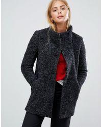 ONLY Sophia Noma Wool Blend Coat - Black
