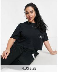 Nike - Swoosh Plus Oversized T-shirt - Lyst