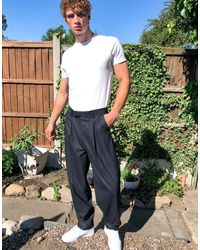 ASOS Pantalones elegantes - Azul