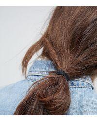 ASOS - Pack Of 10 Triple Band Hair Ties - Lyst