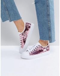 Park Lane - Sequin Sneaker - Lyst