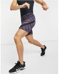 Nike Football Фиолетовые Шорты Strike 21-фиолетовый Цвет - Пурпурный