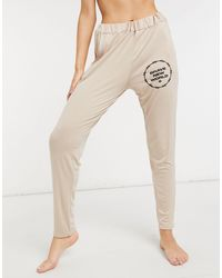 Adolescent Clothing Brave New World - Jogger confort - Beige - Neutre