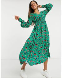 Ghost Suki Dress - Green