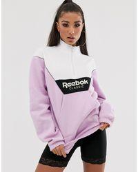 Reebok Фиолетовый Топ - Многоцветный