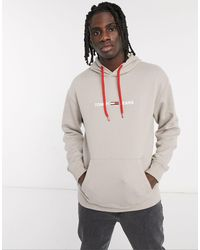 Tommy Hilfiger - Chest Logo Camo Lining Hoodie - Lyst