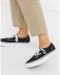 Vans Platform Sneakers for Women - Up to 56% off at Lyst.com