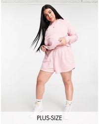Nike - Plus Size Essential Pull Over Fleece Hoodie - Lyst