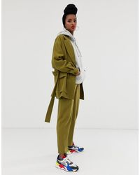 ASOS Safari Suit Trousers - Green