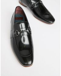 Ted Baker - Paiser Loafers In Black Patent - Lyst