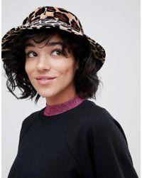 Lazy Oaf - Leopard Bucket Hat - Lyst