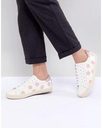 Essentiel Antwerp Spot Sneakers - White
