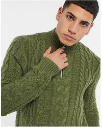 ASOS Jersey grueso - Verde
