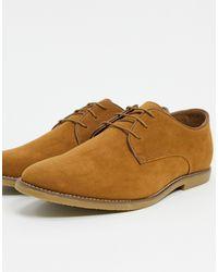 TOPMAN Светло-коричневые Туфли Со Шнуровкой -светло-коричневый