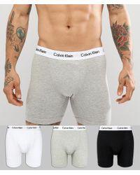 CALVIN KLEIN 205W39NYC - Boxer Brief Trunks 3 Pack In Cotton Stretch - Lyst