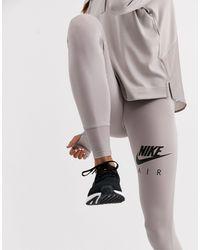 Nike Nike – Air Running – Leggings - Grau