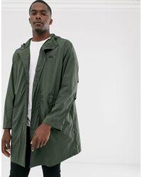 Lacoste Hooded Parka Jacket - Grey