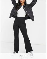 Miss Selfridge Kick Flare Pants - Black