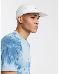 Russell Athletic Netick 5 Panel Cap With Logo - White