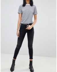 Blend She - Sal Cropped Skinny Jeans - Lyst