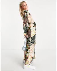 New Look Midaxi Shirt Dress - Multicolour