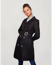 Miss Selfridge Trench - Noir